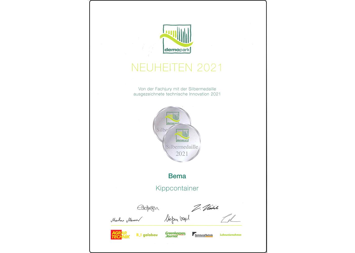 210915_demopark_Urkunde_Silbermedaille_Kippcontainer.jpg